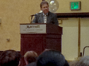 California Real Estate Commissioner Wayne Bell speaks to the California Bar Association's Real Estate Sales & Brokerage